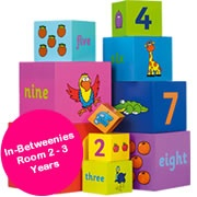 In-Betweenies Room 2 - 3 Years