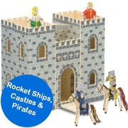 Rocket Ships, Castles & Pirates