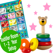 Toddler Room 1-2 Years Old