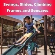 Swings, Slides, Climbing Frames & Seesaws