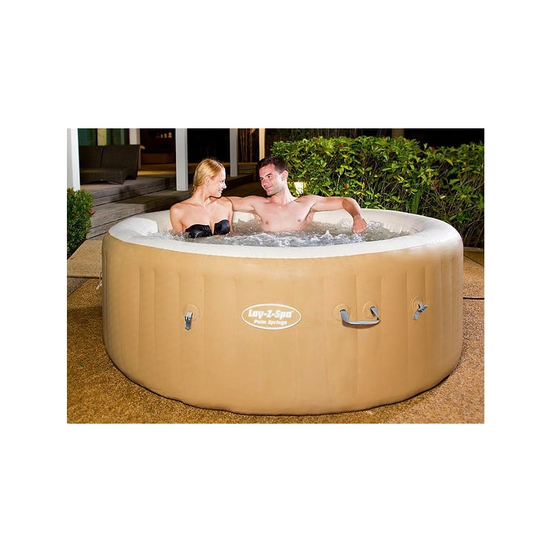 bestway lay z spa palm springs inflatable hot tub. Black Bedroom Furniture Sets. Home Design Ideas