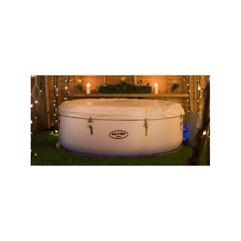 bestway lay z spa paris inflatable hot tub. Black Bedroom Furniture Sets. Home Design Ideas