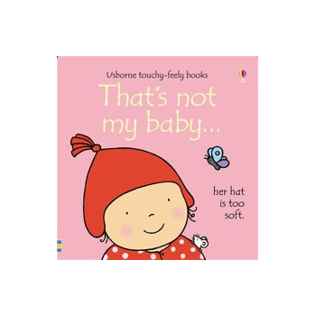 Usborne Thats Not My Baby (Girl) Book - Interactive, sensory book