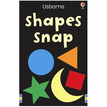 Usborne Shapes Snap Cards - Help to learn shapes and colours