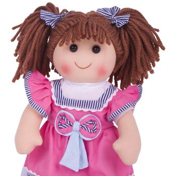 Bigjigs Emma Rag Doll 38cm - Soft and Cuddly Toy