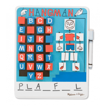 Melissa and Doug Hangman Wooden Game