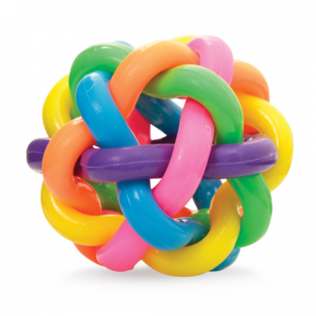 Tobar Rainbow Orbit Ball - Colourful bouncy ball