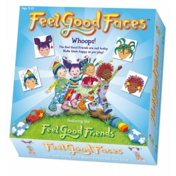 Feel Good Faces Board Game - Explore feelings and emotions