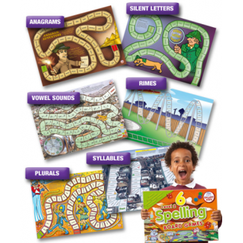 Smart Kids 6 Spelling Board Games 2