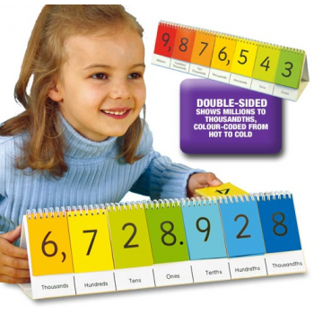 Smart Kids Place Value Flip Stand One - One Million
