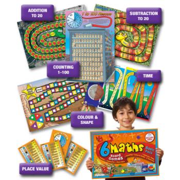 Smart Kids Maths Board Games - Basic