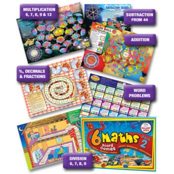 Smart Kids Maths Board Games - Level 2