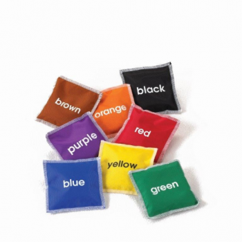 Colour Bean Bags Set Of 8