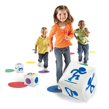 Learning Resources Ready, Set, Move Classroom Fitness Fun Educational aid