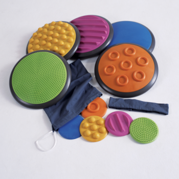 Tactile Discs - Set 1 - 5 Lrg/5 Sml*- tactile, sensory active play toy