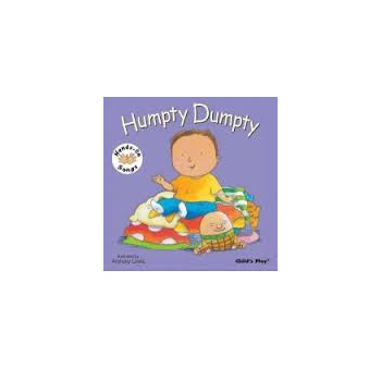 Childs Play Humpty Dumpty Signing (Board Book) - Rhyming and sing along book