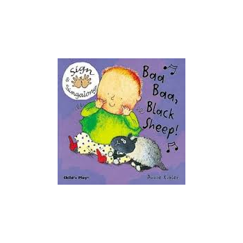 Childs Play Baa Baa Black Sheep Signalong (Board Book) - Rhyming and sing along book