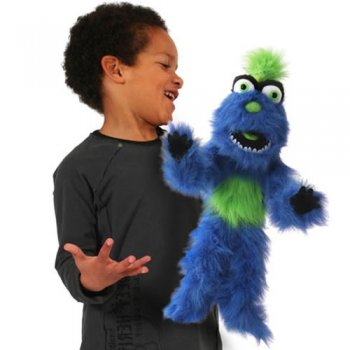 Blue Monster Hand Puppet*