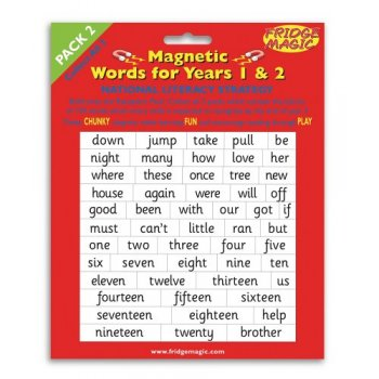 Magnetic Words Years 1-2 Pack 2