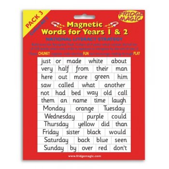 Magnetic Words Years 1-2 Pack 3