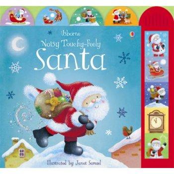 Usborne Noisy Touchy-Feely Santa book