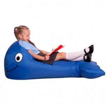 Eden Bazzoo Sea Life Whale Bean Bag*
