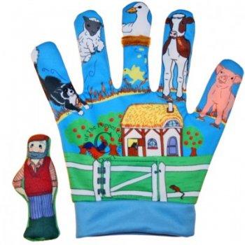 Old MacDonald Song Mitt Glove