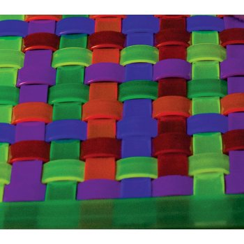 UV Rainbow Ripple Woven Mat 1000mmx1000mm
