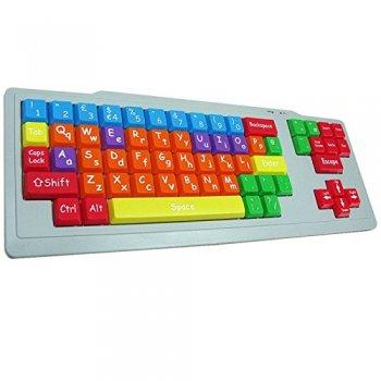 SEN Keyboard - Colour Coded Childrens Keyboard
