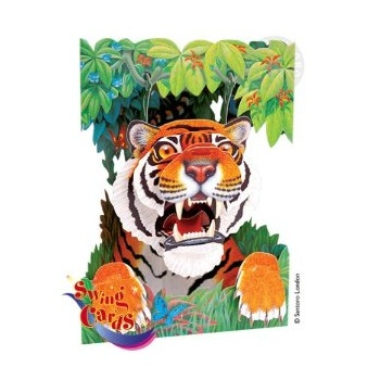 Swing Card Tiger