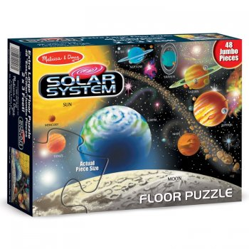 Melissa and Doug Solar System Floor Jigsaw Puzzle 48 Pieces