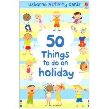 Usborne Activity Cards 50 things to do on holiday