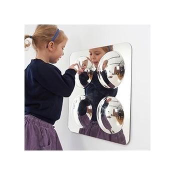 Large 4 Dome Mirror Panel Acryic Mirror Convex 490mm