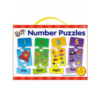Galt Number Puzzles - Develop early counting skills
