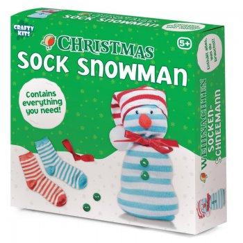 Tobar Christmas Sock Snowman