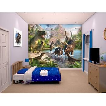 Walltastic Mural - Dinosaur Land Wallpaper*