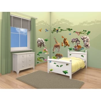 Walltastic Room Decor Kit - Jungle Adventure*