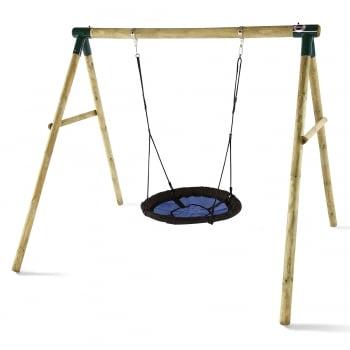 Plum® Spider Monkey® II Wooden Garden Swing Set**