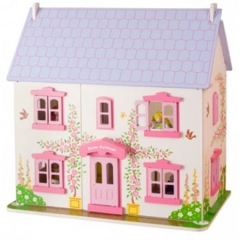 Bigjigs Rose Cottage Dolls House