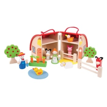 Bigjigs Farm Mini Playset