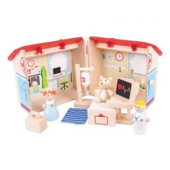 Bigjigs Hospital Mini Playset