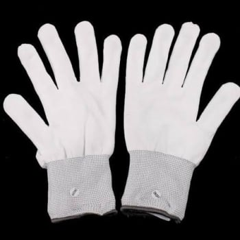 Flashing Gloves - White