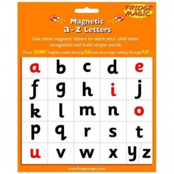 Magnetic A-Z Letters Lower Case