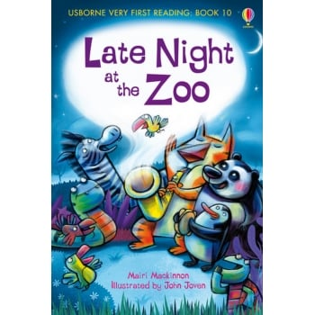 Usborne Very First Reading 10. Late Night at the Zoo book - Supports the letters and sounds programme