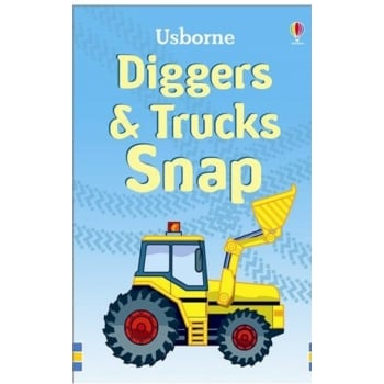 Usborne Diggers & Trucks Snap cards