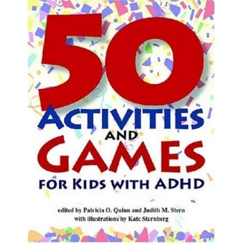 50 Activities And Games For Kids With ADHD Book