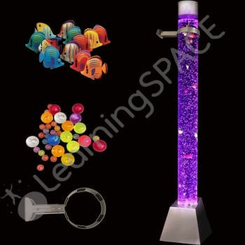 Giant Bubble Tube, Bracket, Fish and Ball Complete Set*