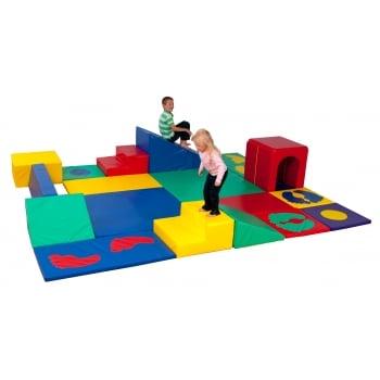 Tobys Tumble Time Centre Play Set (With Storage Sacks)*