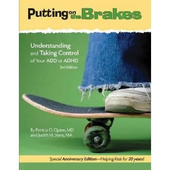 Putting On The Brakes Activity Book For Kids With ADD or ADHD Book