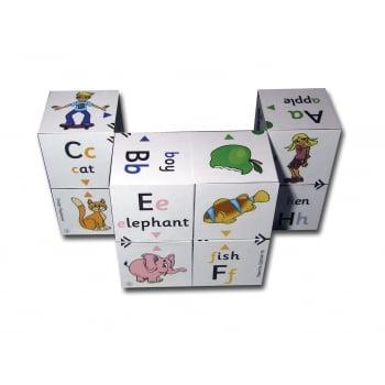 Alphabet Cube - First Phonics & Colour matching